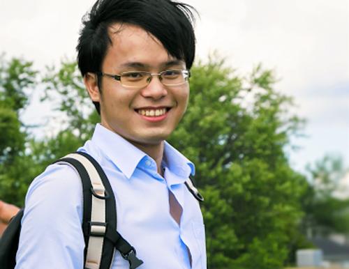 Mr Hoang- Du học sinh tại Singapo