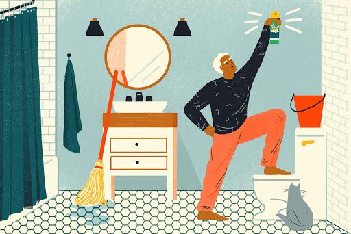 Bí quyết vệ sinh nhà mới trước khi chuyển vào ở