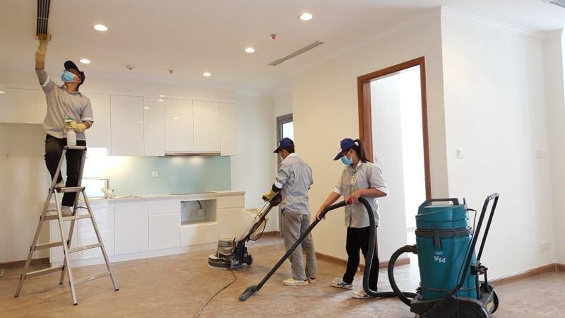 Bảng giá chi tiết dịch vụ tổng vệ sinh nhà sau xây dựng