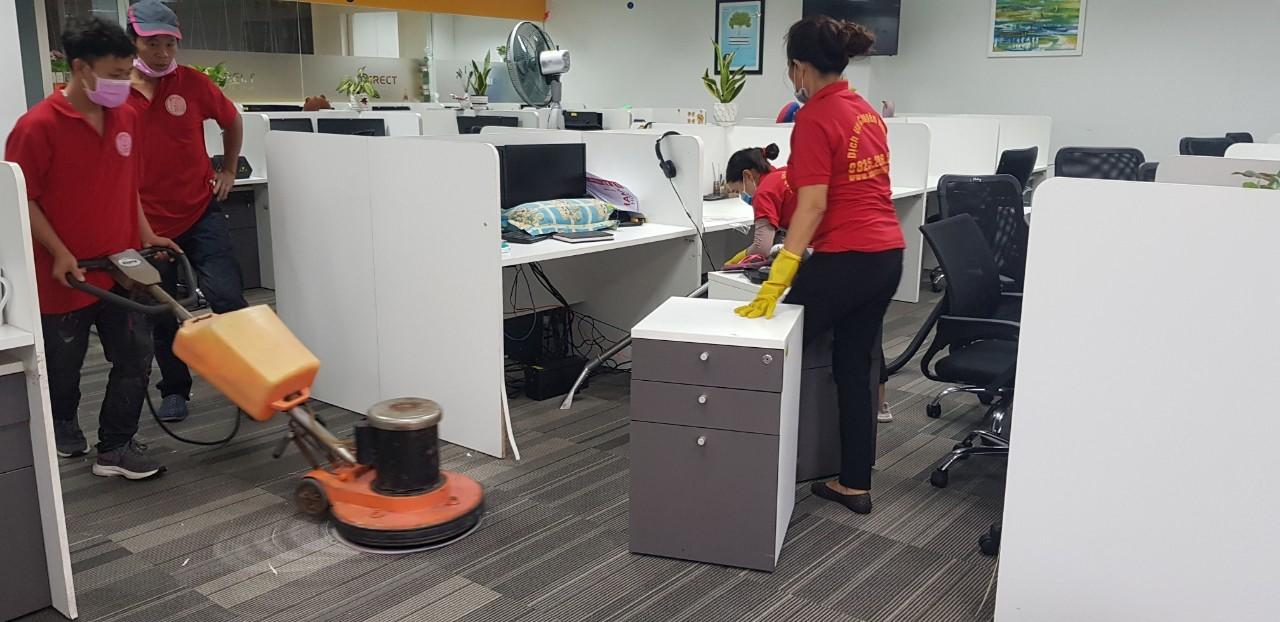 Bảng giá giặt thảm văn phòng