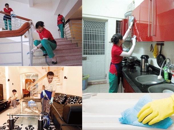 Bí quyết vệ sinh nhà sau xây dựng hiệu quả