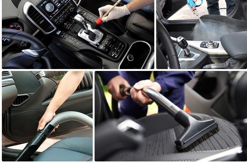 Cách làm sạch nội thất ô tô