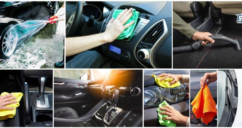 Cách vệ sinh nội thất xe ô tô sạch bóng