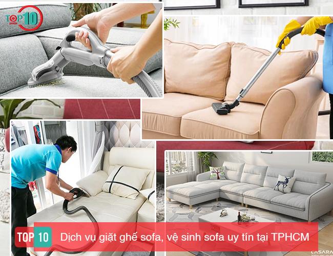 Dịch vụ giặt ghế sofa tốt nhất tại nhà