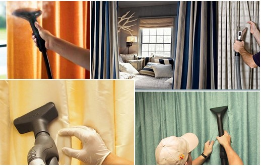 Dịch vụ giặt rèm cửa màn cửa uy tín chất lượng