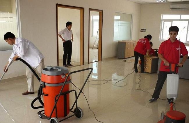 Dịch vụ tổng vệ sinh nhà cửa chuyên nghiệp của Năm Sao
