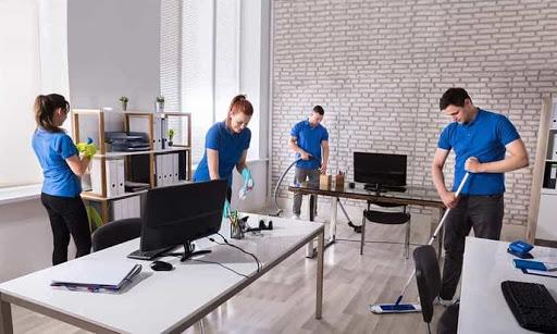 Dịch vụ vệ sinh văn phòng chuyên nghiệp giá rẻ của Năm Sao