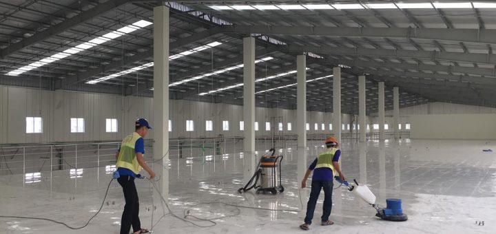 Dịch vụ vệ sinh nhà xưởng chuyên nghiệp giá rẻ tại TpHCM