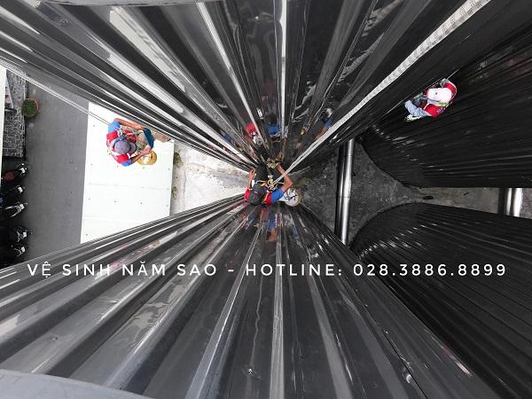 Dịch vụ vệ sinh nhà xưởng chất lượngcao của Năm Sao