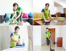 Dịch vụ vệ sinh tại công ty Năm Sao