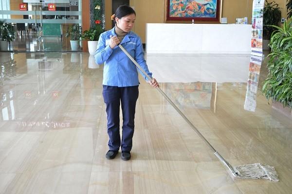Hiệu quả của việc vệ sinh nhà cửa giữ sàn nhà luôn sạch sẽ