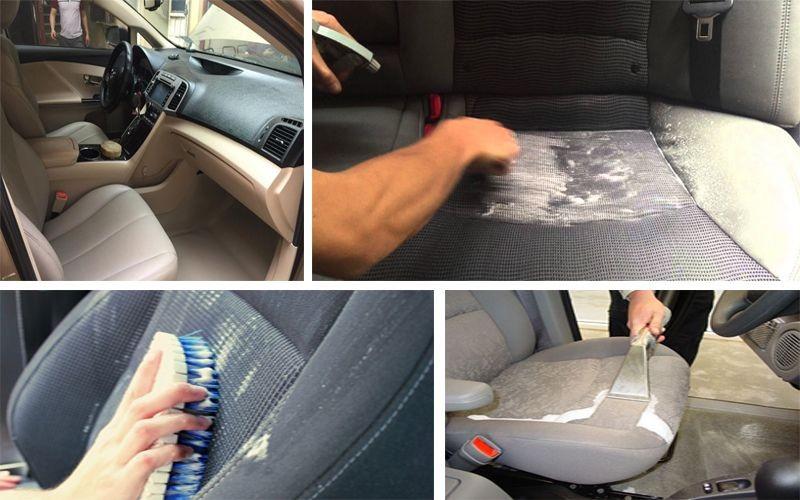 Mẹo giúp vệ sinh nội thất xe ô tô sạch bóng như mới