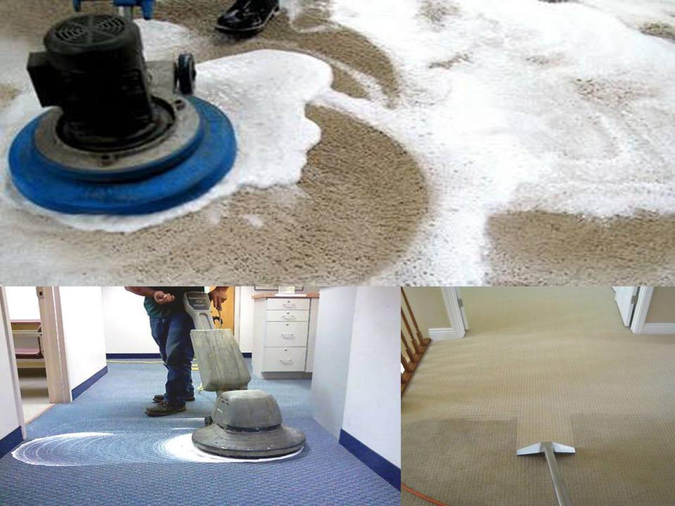 Những cách giúp giặt sạch thảm văn phòng