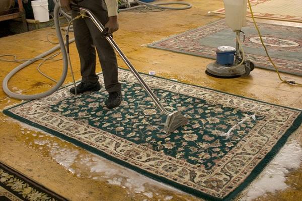 Quy trình làm sạch thảm và thảm lụa