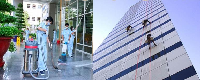Quy trình vệ sinh kính các tòa nhà như thế nào?