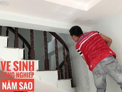 Vệ sinh công trình sau xây dựng và quy trình thực hiện công việc