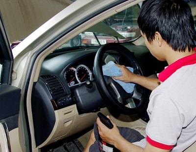 Vệ sinh nội thất xe ô tô hướng dẫn vệ sinh